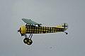 Fokker D.VIII Lt See Gotthard Sachsenberg Pass 05 Dawn Patrol NMUSAF 26Sept09 (14599895955).jpg