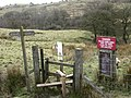Footpath and stile near firing range - geograph.org.uk - 364753.jpg