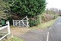 Footpath off Whatlington Rd at Gate Farm - geograph.org.uk - 1723539.jpg