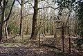 Footpath waymarker, Kemp's Wood - geograph.org.uk - 1251994.jpg