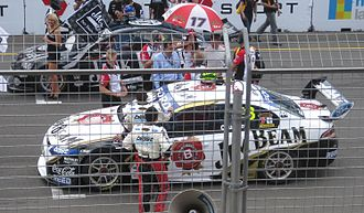 2010 V8 Supercar Championship Series - The Ford FG Falcon of 2010 champion James Courtney