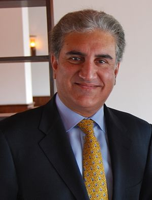 Shah Mehmood Qureshi - Image: Former Minister for Foreign Affairs Shah Mehmood Qureshi and Nancy Birdsall (cropped)