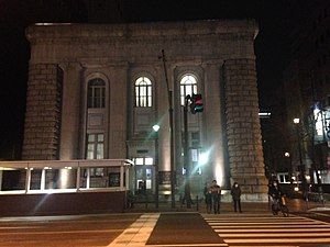 Former Yokohama Branch of Fuji Bank at night 20140308.JPG