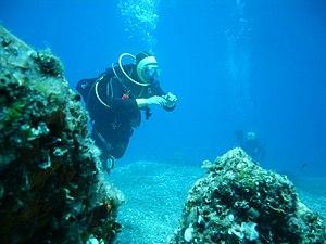 Formiche di Grosseto - Diving at Formiche di Grosseto
