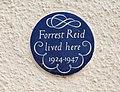 Forrest Reid plaque, Belfast - geograph.org.uk - 1620230.jpg