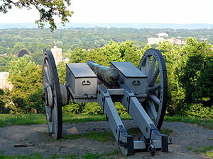 Fort Nonsense (Morristown, New Jersey) - Cannon at Fort Nonsense