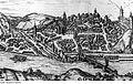 Fotothek df rp-a 0820069 Meißen. Stadtansicht mit Walke links vom Brückenturm, Ausschnitt, 1575.jpg