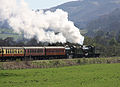 Foxcote Manor and 3802 leaving Carrog.jpg