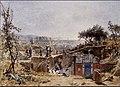 François-Louis Français (1814 - 1897 ) Excavations at Pompeii, watercolour c 1886 31cm x 42cm.jpg