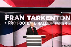 Fran Tarkenton - Tarkenton speaking at the 2016 Republican National Convention