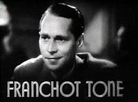 Franchot Tone in Dangerous trailer.JPG