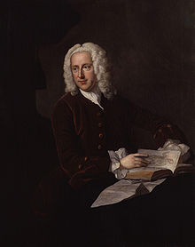 Portrait of Frank Nicholls attributed to Thomas Hudson, circa 1745-1748 Frank Nicholls by Thomas Hudson.jpg