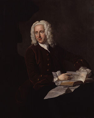 Frank Nicholls - Portrait of Frank Nicholls attributed to Thomas Hudson, circa 1745-1748
