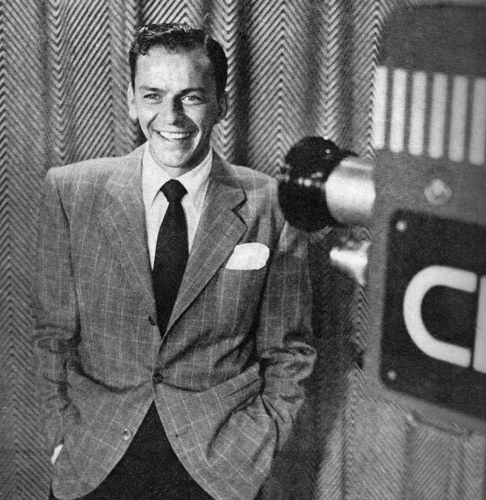 Frank Sinatra Metronome magazine November 1950