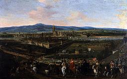 Frankfurt Am Main-Johann Lorenz Mueller-Einzug Gustav Adolfs in Frankfurt-1631.jpg