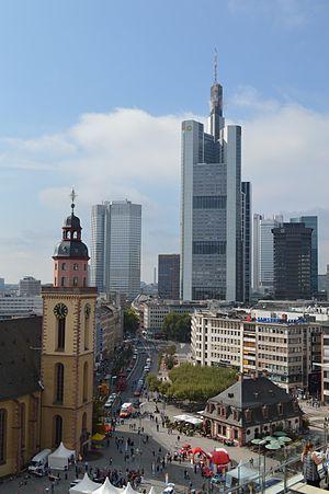 Frankfurt Hauptwache View