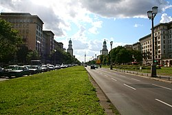 Frankfurter Allee - Frankfurter Tor.JPG