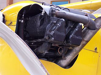 Franklin 4 series - Franklin 4AC-150 fitted to a Piper J-3 Cub