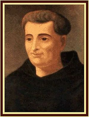 Frei Galvão - Painting by an unknown painter (circa 1850)