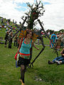 Fremont Solstice Parade 2007 - Ent and fairy at Gasworks 02.jpg