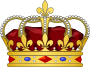 French heraldic crowns - King.svg