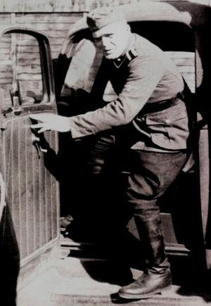 Fritz Schmidt (SS officer) - Fritz Schmidt in Treblinka II