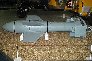 Italian battleship Roma (1940) - A Fritz X radio-controlled bomb
