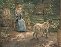 Fritz von Uhde - In der Herbstsonne - 9271 - Bavarian State Painting Collections.jpg