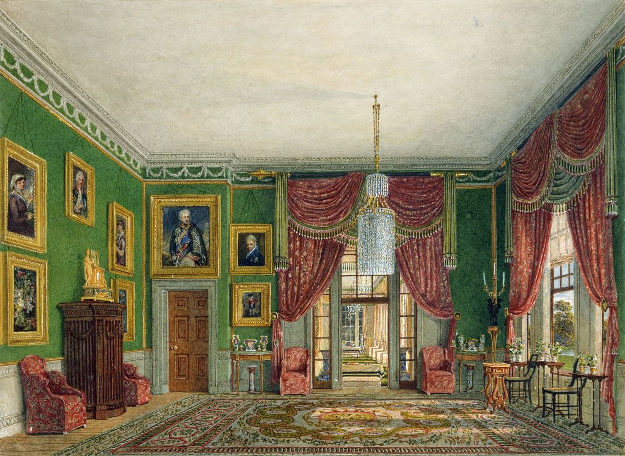 Фрогмор - Хаус, Зеленый павильон, Чарльз Уайлд, 1817- royal coll 922121 257043 ORI 0 0.jpg