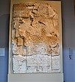 Front face of a Maya stela from Waka(El Peru) Guatemala. 250-900 CE.jpg