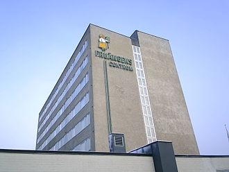 Fruängen - Skyscrapers in central Fruängen