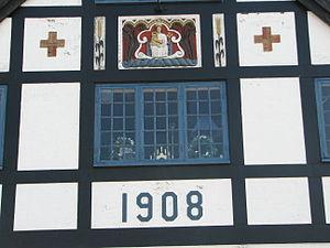 Fru Petersens Café - Image: Fru Petersens Café Gavlstenen 1908
