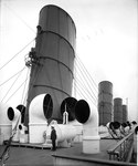 Funnels of the 'Aquitania' (1914) RMG G10791.tiff
