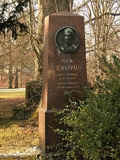 Johann Eduard Wappäus geographer and writer from Germany