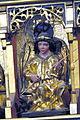 Güstrow Dom - Kreuzigungsaltar 4d Heilige untere Reihe Michael.jpg