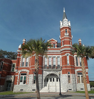 Brunswick Old Town Historic District - Old Brunswick City Hall, designed in 1889