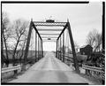 GENERAL VIEW LOOKING ACROSS BRIDGE PROM SOUTH - Sock Road Bridge, Spanning Beaver Dam River, Lowell, Dodge County, WI HAER WIS,14-LOW,1-5.tif