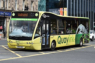 QuayLink Group of bus services in Tyne and Wear