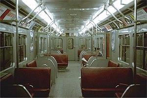 Toronto subway rolling stock - Image: G Subway Interior