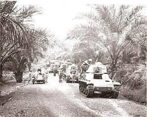 Battle of Gabon - Image: Gabon campaign '1e Compagnie de Chars de Combat de la France Libre'
