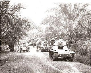 Battle of Gabon WWII battle in colonial Gabon; Allied victory