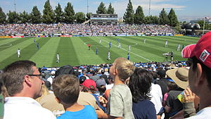 MLS Cup 2012 - Los Angeles Galaxy became the first team to defeat San Jose at Buck Shaw Stadium since August 2011.