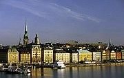Stockholm, Staré Město (Gamla Stan).