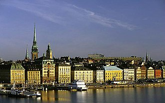 Stockholm during the Great Power Era - Skeppsbron.