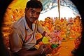 Ganesh Idol in Making By Anis Shaikh 02.jpg