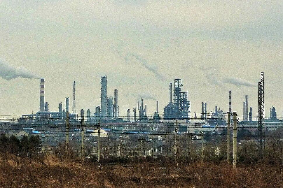 Ganjiaxiang - industrial panorama - P1070643