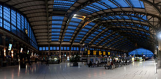 Gare de Lille Flandres - The station concourse