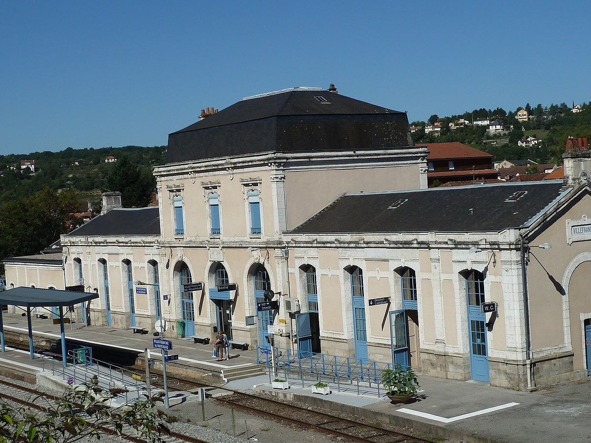 gare de villefranche de rouergue wikip dia. Black Bedroom Furniture Sets. Home Design Ideas