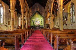 Garrison Church (Sydney) - The Garrison Church interior
