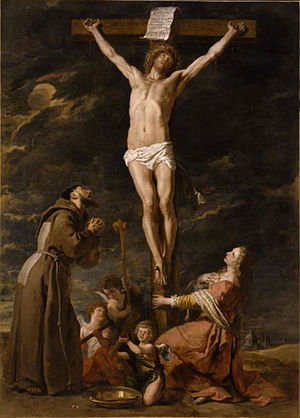 The Crucifixion with Saint Mary Magdalene and Saint Francis